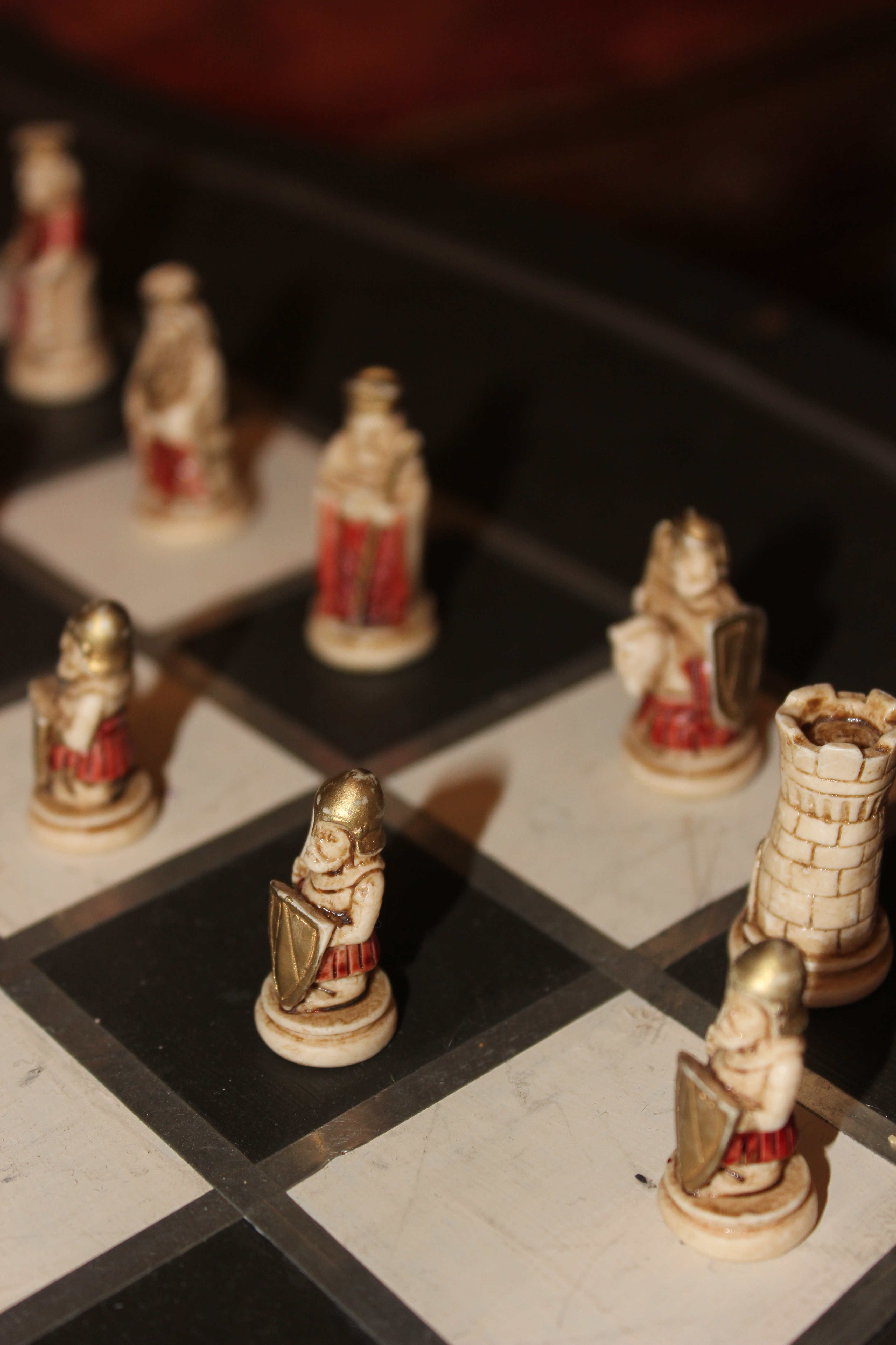 Pics For > God And The Devil Playing Chess Tattoo